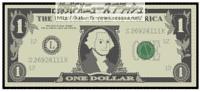 1ドル札 1$